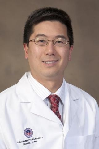 White-coat photo of Dr. Philip Kuo